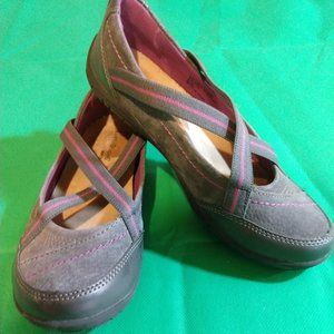 Earth Origins Shoes - Size 6.5M - Arleen - Leather